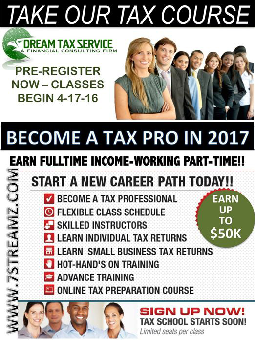 Classes - Product Category - 7Streamz - Become a tax professional