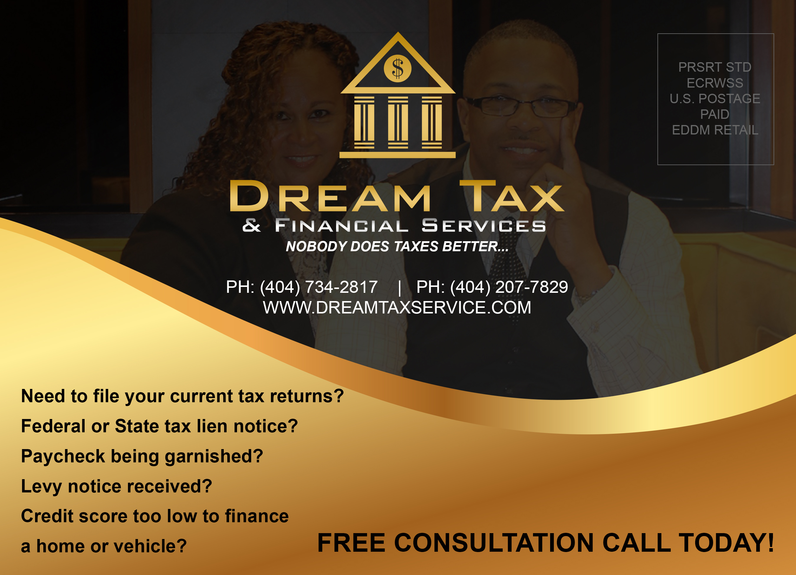 Real Estate Power Couple - Rey and Vernice Dauphin - Dream Tax Services